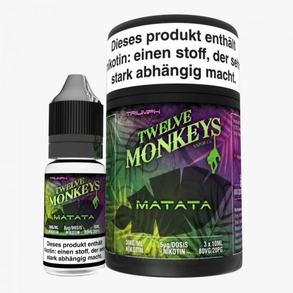 12 Monkeys Matata 3x10ml